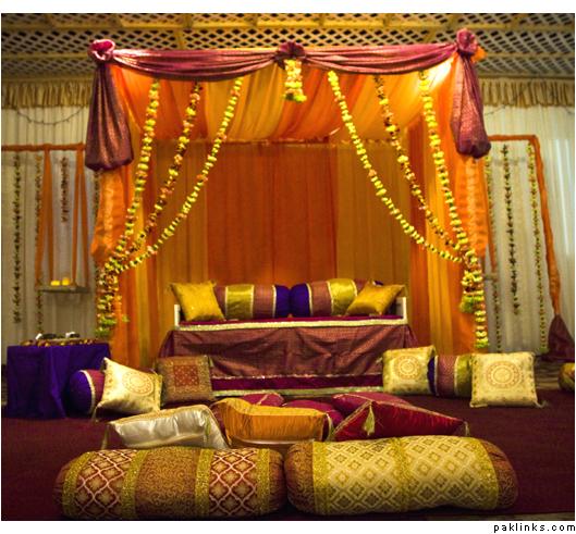 Mehndi Ceremony Ideas : Mehandi designs world mehndi ceremony decoration