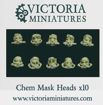 máscaras de proteción química