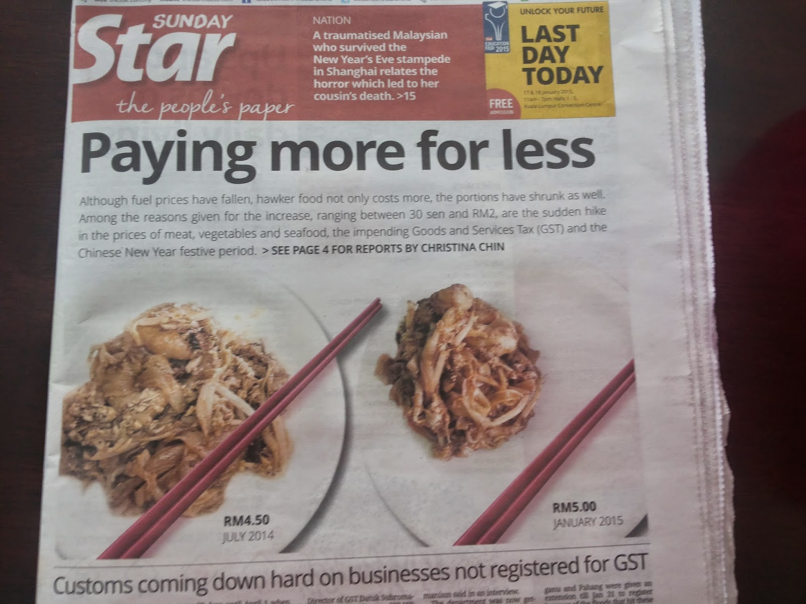 Living cost in Malaysia