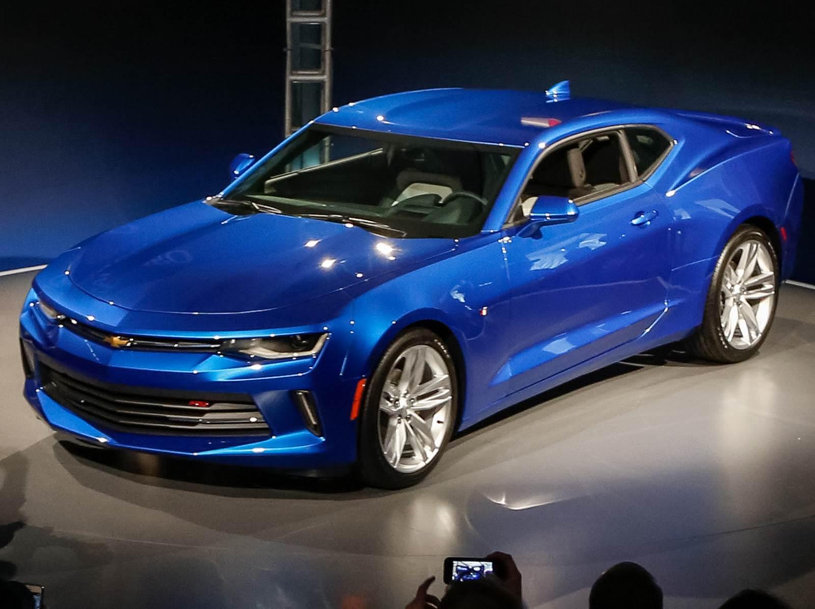 Novo GM Camaro 2016: vídeo, desempenho e especificações | CAR.BLOG.BR
