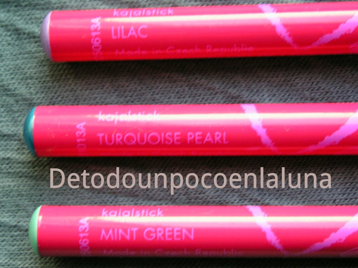 lápices de ojos colortrend de avon