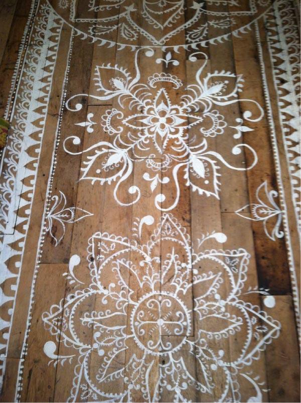 Idee decor per rinnovare un pavimento di legno blog di - Rinnovare pavimento ...