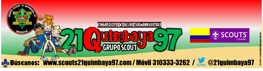 Grupo Scout 21Quimbaya97