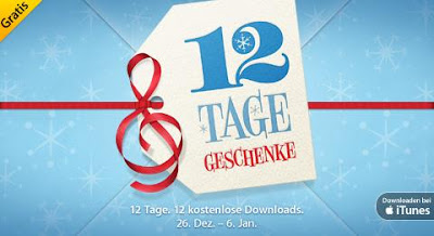 iTunes - 12 Tage Geschenke-Aktion: Vom 26.12.2011 bis 06.01.2012 jeden Tag gratis Download