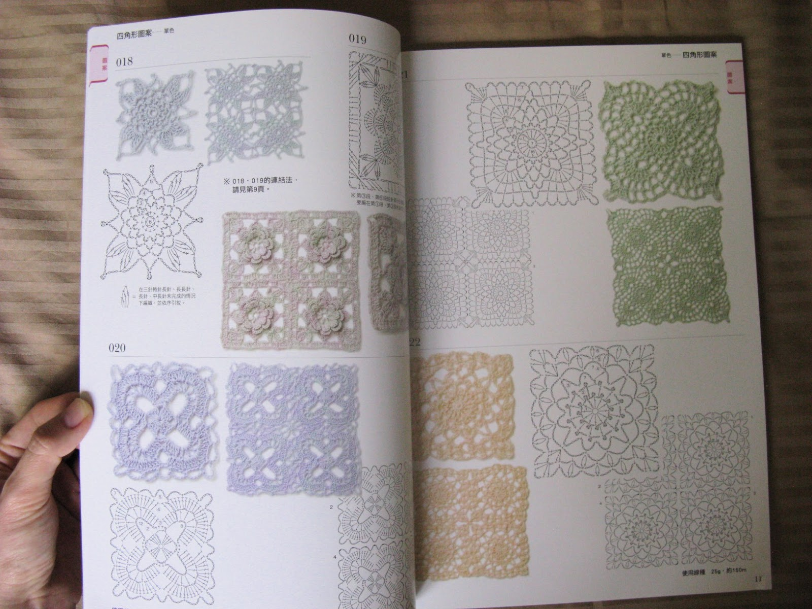 ... .com: Japanese Crochet Book - Motifs and Edging 300 Patterns