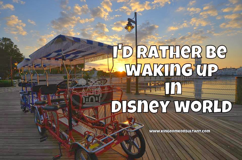 Even The Sunrise Is More Magical On A Disney Vacation Isnt It