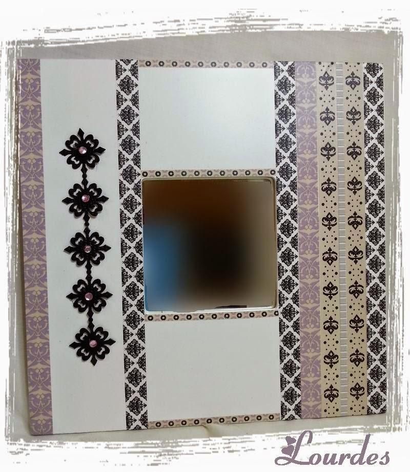 Espejos decorativos aprender manualidades es - Espejos para manualidades ...