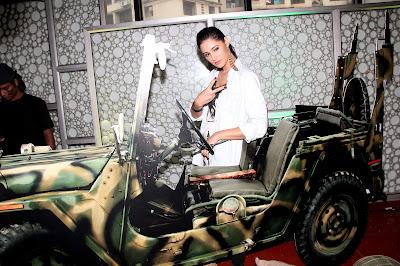 Madras Cafe - Nargis Fakhri at Promotion