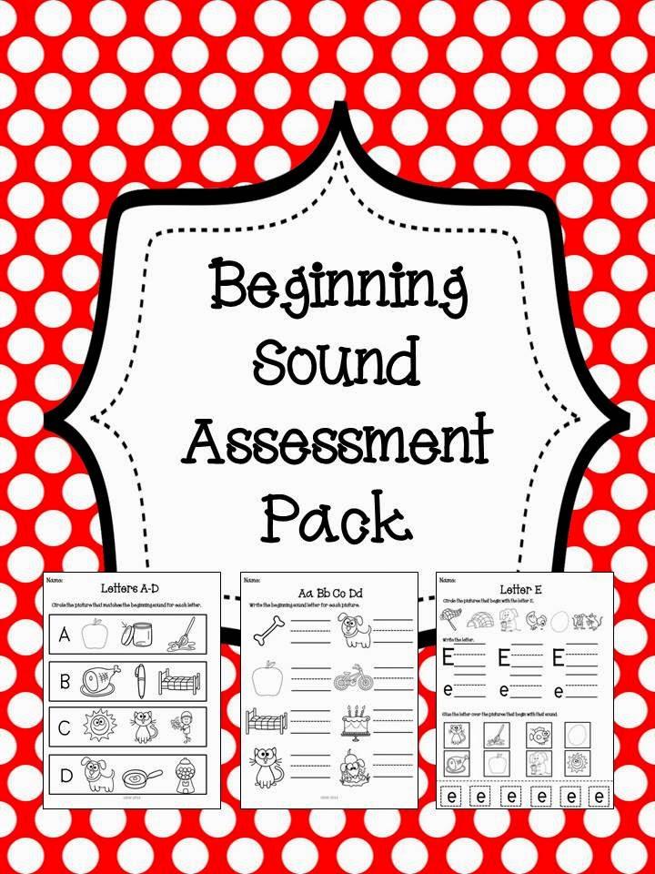 http://www.teacherspayteachers.com/Product/No-Prep-Beginning-Sounds-Assessment-Pack-1221468