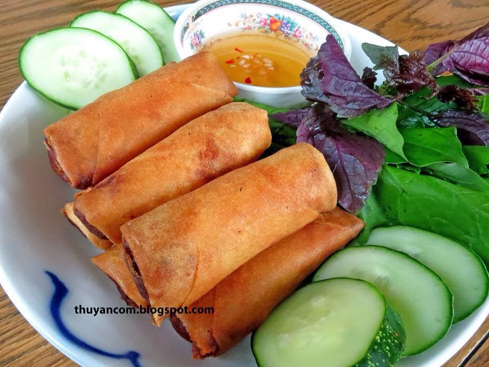 Blog of Salt: Cha Gio - Vietnamese Fried Spring Roll