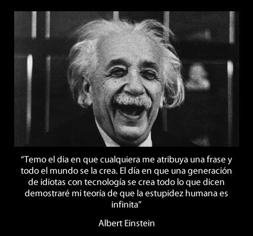 Tag Frase De Albert Einstein Sobre La Tecnologia Del Futuro