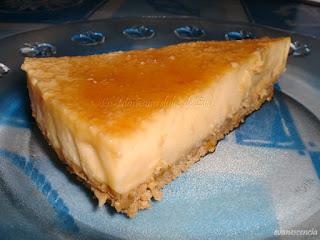 Pastel de Crema de Naranja Helada
