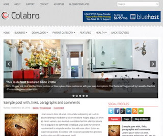 Colabro-Blogger-Template