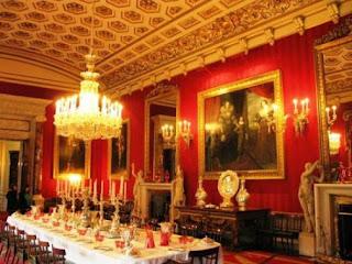Tempat Wisata Di Inggris - Chatsworth House - Dining Room
