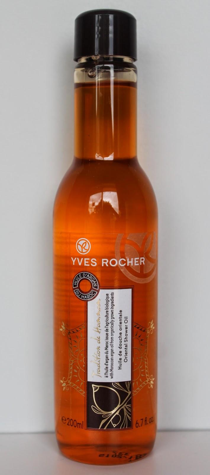Huile de douche Yves Rocher