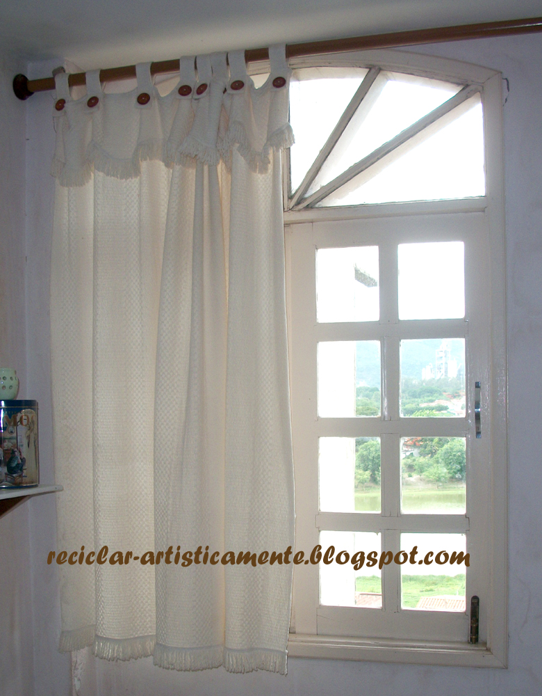 Cortinas De Baño Mas Largas:cortinas quedaron largas para las nuevas ventanas que eran mucho mas