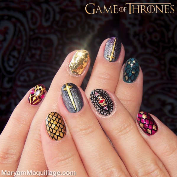 """maryam maquillage """"game of thrones"""""""