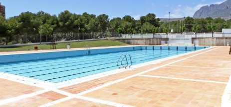 Amigos de la natacion valenciana control federativo en for Piscina climatizada benidorm