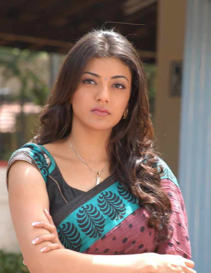 Kajal Agarwal In Saree