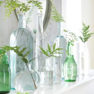 vasos para planatas reciclados