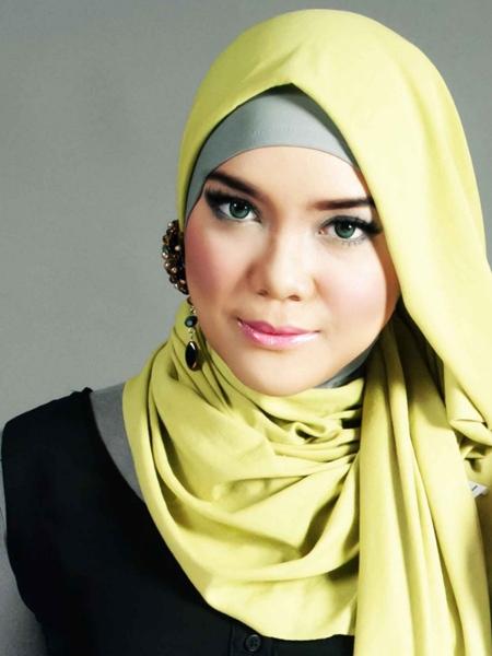 Tutorial Pashmina Cotton Cloth Long Shawl | Tifani Anglila