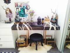 My desk area