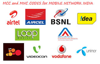 MNC and MMC code of Mobile Network India