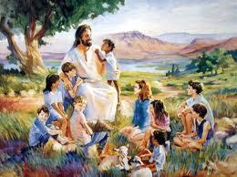 Tuhan YESUS yang sangat Cinta dan sayang anak-anak.....