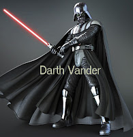 Darth Vander Merampok Bank