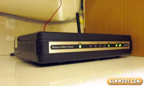 streamyx broadband modem