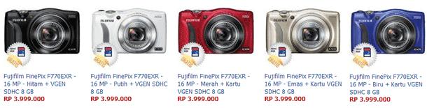 Harga Kamera Fujifilm FinePix F770EXR