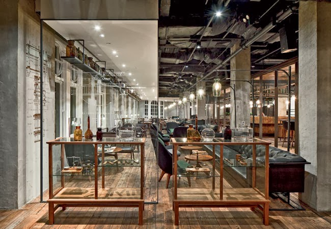 Let 39 s stay mercato by jean georges vongerichten by neri for Office design research