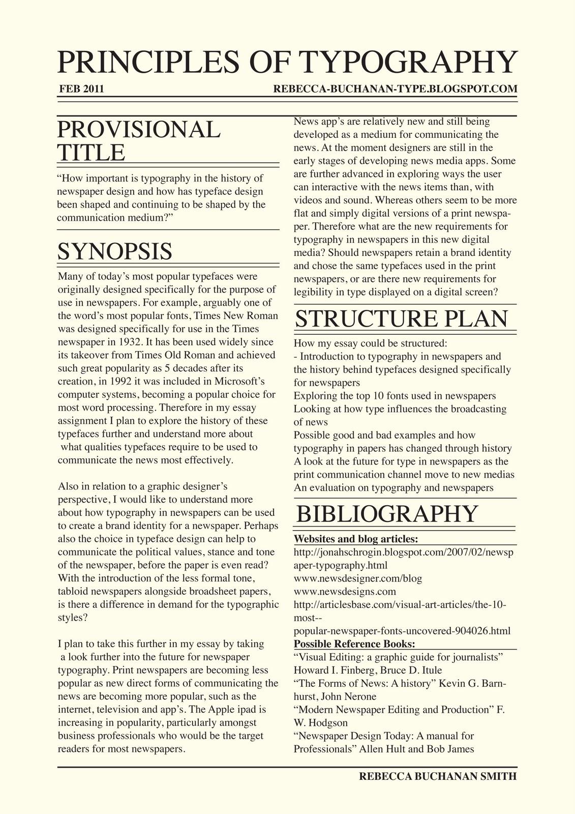 Journal type essay online
