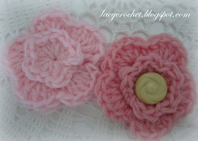 Crochet Patterns Of Flowers : Lacy Crochet: Free Crochet Flower Patterns