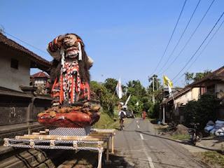 Balinese village, Bali, bike tour