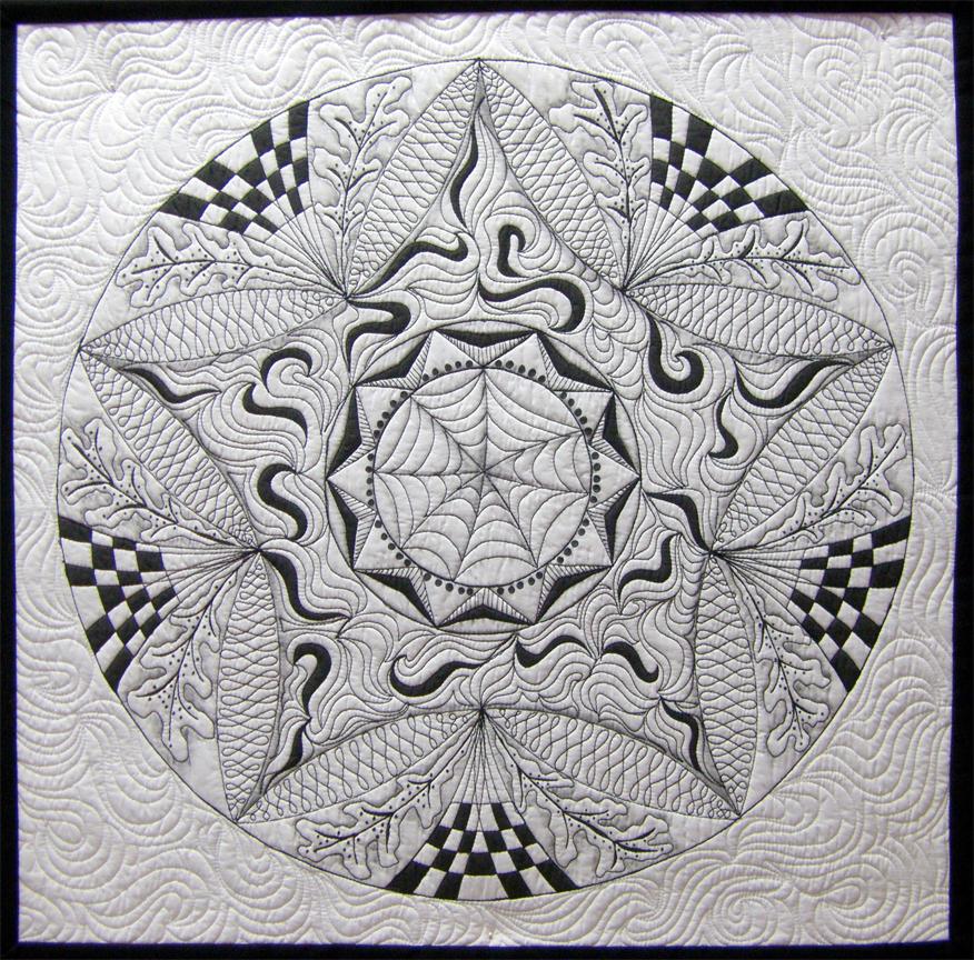 Zentangle: Zendala Quilting
