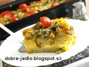 Hubové zemiaky - recept