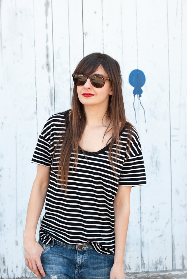 Stripes-look