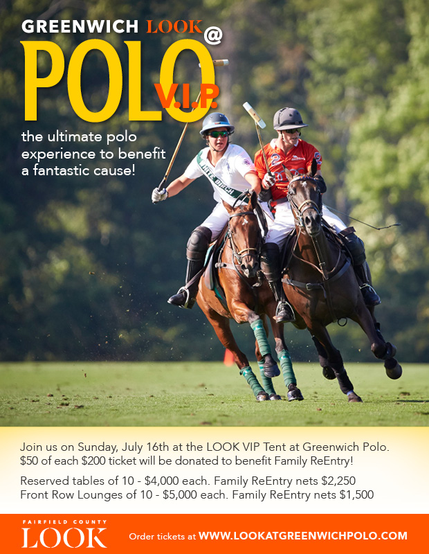 Event: Please join us at Greenwich Polo to benefit Family ReEntry. July 16, 2017, 1 pm
