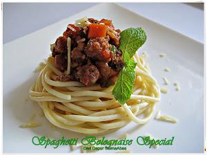 Spaghetti Bolognaise Special