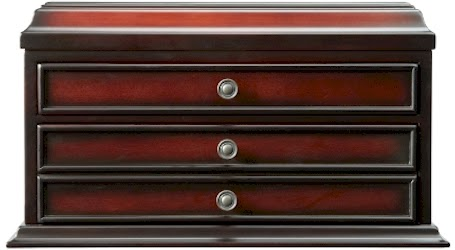 Menu0027s Valet Mahogany Storage Box For $39.99 + $5.00 Shipping U003d $44.99 At  The Bombay Company