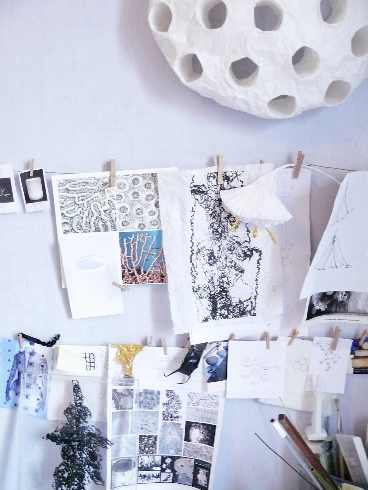 mademoiselle robert rencontre avec maryse dugois pour l 39 exposition papier. Black Bedroom Furniture Sets. Home Design Ideas