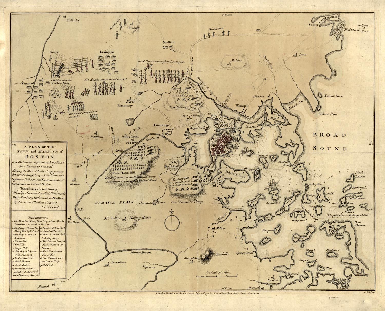 Boston RogersStokes On Massachusettss Political Unity Mar - Massachusetts political map