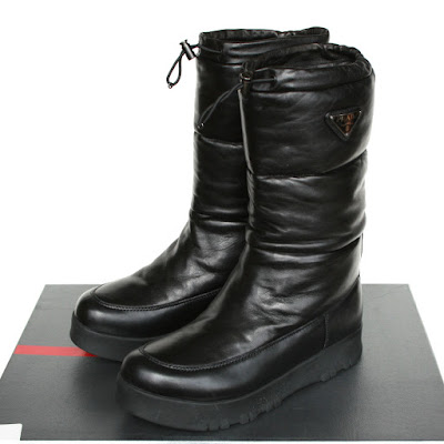 prada sport padded napa leather quilted bomber boots