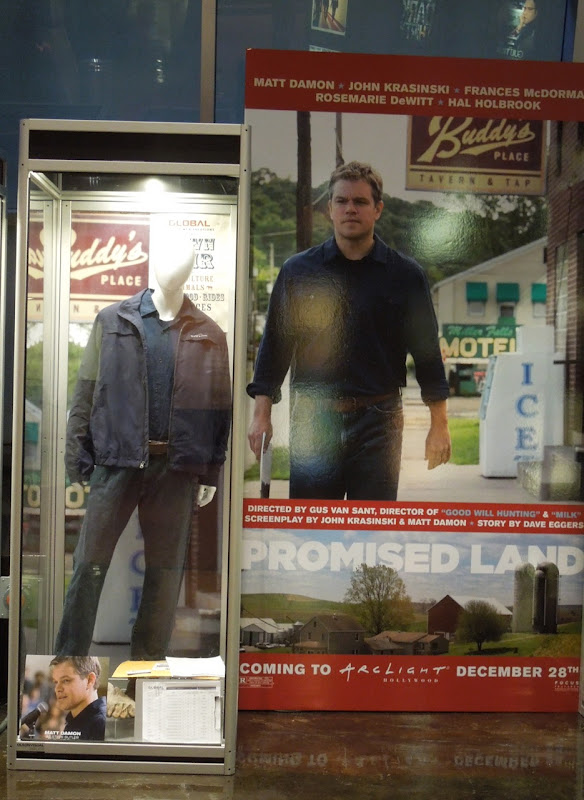 Matt Damon Promised Land movie costume