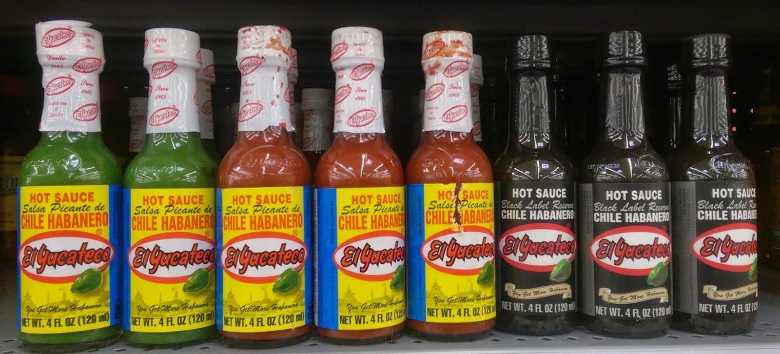 El Yucateco Hot Sauce
