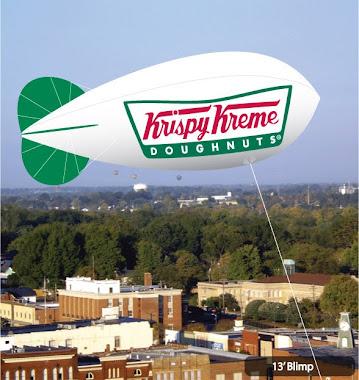 Krispy Kreme Blimp