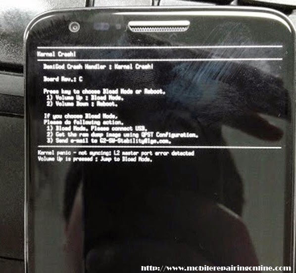 How to fix LG G2 in Recovery Mode