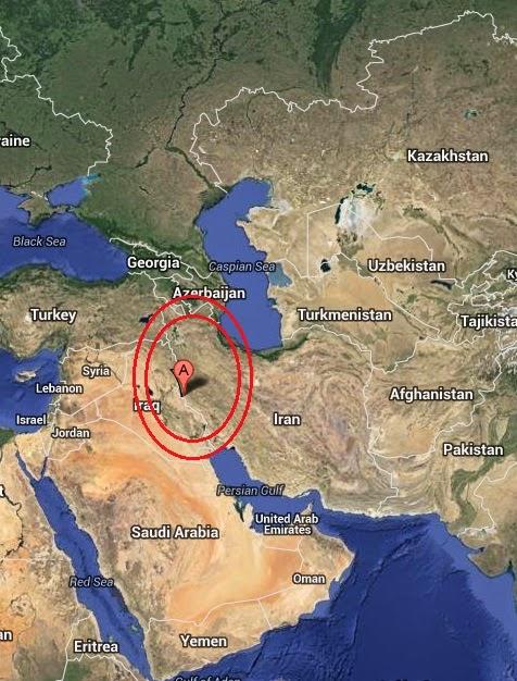 Magnitude 5.0 Earthquake of Mandali, Iraq 2014-08-31