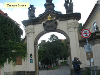 praga-intrarea-in-manastirea-strahov